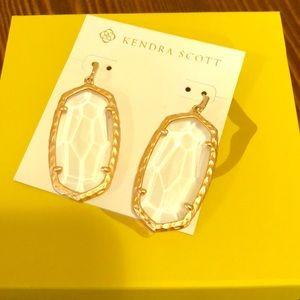 Kendra Scott Ella Drop Rose Gold Earrings